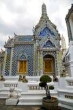 Thailand asia   in      bangkok rain  temple abstract potter Royalty Free Stock Photo