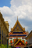 thailand asia   in  bangkok rain  temple abstract street lamp Royalty Free Stock Photography