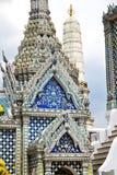 thailand asia   in  bangkok rain  temple blue Royalty Free Stock Photography
