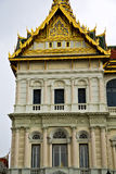 thailand asia   in     temple   roof wat  palaces         mosai Stock Images