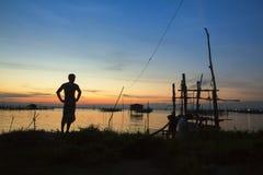 Thailand-Aufpassen Stockbild