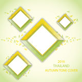 THAILAND AUTUMN TONE COVER. This piece of art referring to Thailand Royalty Free Stock Photo