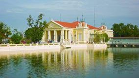Thailand, Ayuthaya, Bang Pa-In Palace. stock video footage