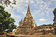 Thailand Ayutthaya Phra Sri Sanphet Royalty Free Stock Images