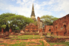 Thailand Ayutthaya Phra Sri Sanphet Royalty Free Stock Image