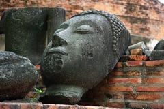 Thailand Ayutthaya Wat Ratburana of Ratchaburana Stock Afbeeldingen