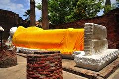 Thailand Ayutthaya Wat Yai Chai Mongkhon Stock Photos