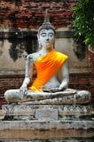 Thailand Ayutthaya Wat Yai Chai Mongkhon Stock Photography
