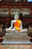 Thailand Ayutthaya Wat Yai Chai Mongkhon Stock Images
