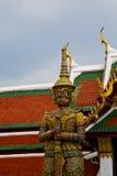 Thailand Azië in de regentempel van Bangkok Stock Afbeeldingen