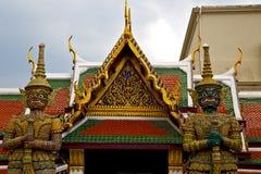 Thailand Azië in van de de regentempel van Bangkok abstracte het demonstrijder Royalty-vrije Stock Afbeelding