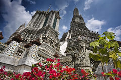 Thailand, Bangkok, Arun Temple Royalty Free Stock Photography