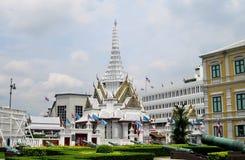Thailand Bangkok asiatisk kulturtempel Fotografering för Bildbyråer