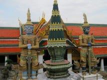 Thailand Bangkok asiatisk kulturtempel Royaltyfria Foton