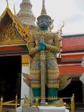 Thailand Bangkok asiatisk kulturtempel Arkivfoto