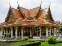 Thailand Bangkok asiatisk kulturtempel Arkivbilder