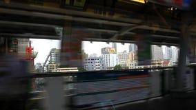 Thailand, Bangkok, am 1. August 2014 Heraus schauen stock video