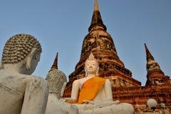 Thailand Bangkok Ayyuthaya. Travel through historical places in Thailand royalty free stock images
