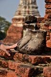 Thailand Bangkok Ayyuthaya. Travel through historical places in Thailand stock image