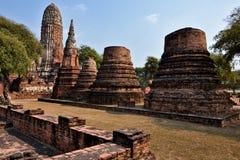Thailand Bangkok Ayyuthaya. Travel through historical places in Thailand stock photography