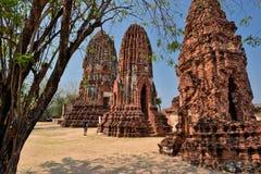 Thailand Bangkok Ayyuthaya. Travel through historical places in Thailand royalty free stock photos