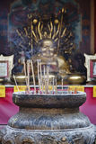 Thailand, Bangkok, Buddhist temple Royalty Free Stock Photos