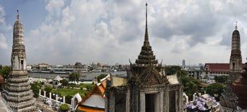 Thailand, Bangkok,  the Chao Phraya river Royalty Free Stock Photos