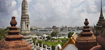 Thailand, Bangkok,  the Chao Phraya river Royalty Free Stock Image