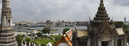 Thailand, Bangkok,  the Chao Phraya river Royalty Free Stock Photography