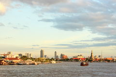 Thailand, Bangkok, Chao Praya river Stock Images