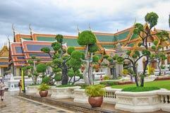 Thailand Bangkok den storslagna slotten royaltyfri bild