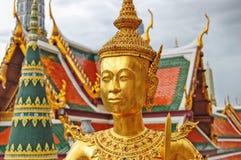 Thailand Bangkok den storslagna slotten royaltyfria foton