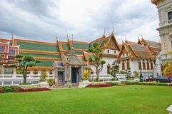 Thailand Bangkok den storslagna slotten arkivfoton