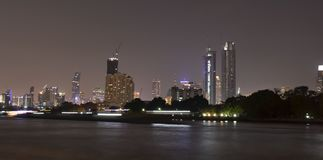 thailand bangkok Fiume fotografie stock