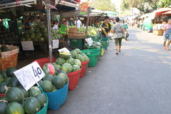 Thailand : Bangkok Food Market Royalty Free Stock Photo