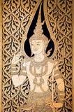 Thailand, Bangkok: golden buddha temple stock image
