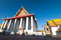 Thailand, Bangkok. Histirical and culture legacy, Tample of Dawn, Gold Buddhas Stock Images
