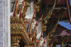 Thailand, Bangkok, Indrawiharn temple Stock Photo