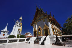 Thailand, Bangkok, Indrawiharn temple Stock Image