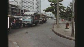 Bangkok traffic seventies