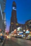 THAILAND, BANGKOK-Night Bangkok. Baiyoke Suite Hotel Royalty Free Stock Photo