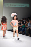 THAILAND, BANGKOK- OCT 2013 : A model walks the runway at the Gi Stock Image