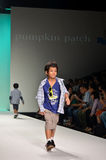 THAILAND, BANGKOK- OCT 2013 : A model walks the runway at the PU Royalty Free Stock Image