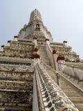 Thailand Bangkok - omhoog de stappen Stock Foto's