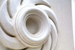 Thailand  bangkok       palaces  temple   abstract    in spiral angl Stock Images