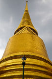 Thailand  in  bangkok  rain   temple abstract street lamp Royalty Free Stock Photography