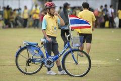 THAILAND BANGKOK SANAM LUANG KING BIRTHDAY Royalty Free Stock Photography
