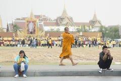 THAILAND BANGKOK SANAM LUANG KING BIRTHDAY Royalty Free Stock Photo