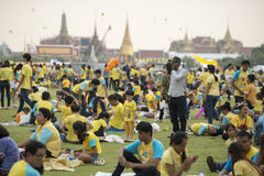 THAILAND BANGKOK SANAM LUANG KING BIRTHDAY Royalty Free Stock Image