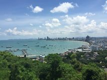 Thailand Bangkok Hilltop. Thailand Bangkok Seaside Beach Ocean Hilltop Royalty Free Stock Photos